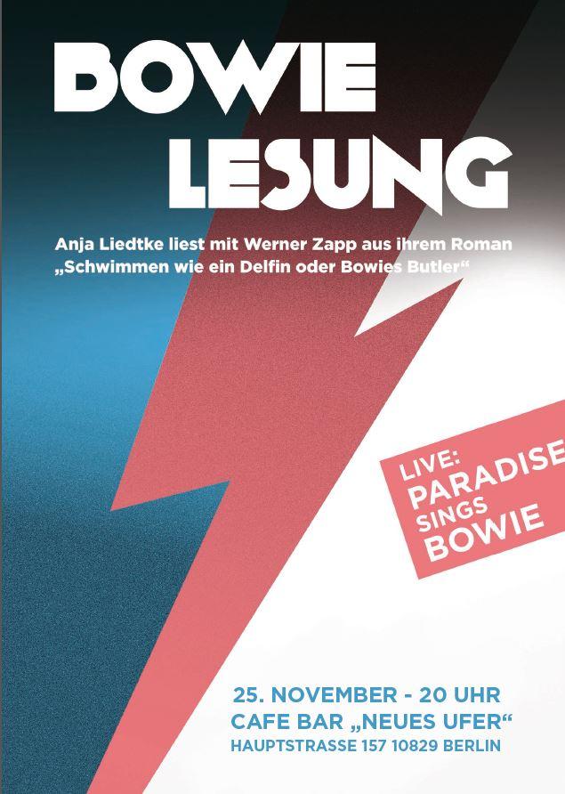 Bowie-Lesung Berlin